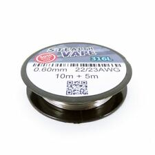 316L Stainless Steel Wire (22/23AWG) 0.60mm x 10m Reel + 5m Extra Free