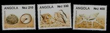 Africa Shells Fish & Marine Life Three Angola Mint Never Hinged Stamps