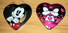 2 Stück Disney Blechdosen in Herzform