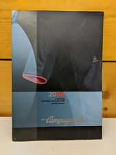 Vintage Campagnolo 2006 clothing/soft goods/apparel catalog brochure