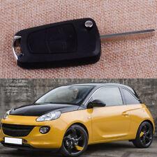 2 Buttons Flip Remote Key Case shell for Vauxhall Opel Corsa Zafira Tigra Meriva