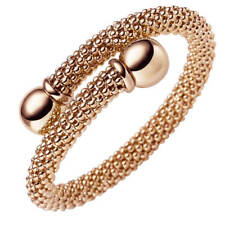 Raspberry Bangle Bracelet Made Of 585 Gold Rose Gold, 0 5/16in Track Width