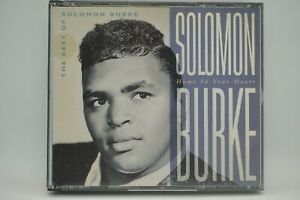 Solomon Burke - Home In Your Heart : The Best Of  2xCD Album - Rare