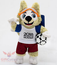 Russian Toy doll Wolf Zabivaka authentic symbol of Football soccer FIFA 2018