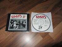 GO GO'S The Whole World Lost It's Head OOP 1994 EUROPEAN CD single 2 live tracks