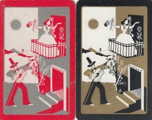 GENUINE SWAP PLAYING CARD - 1 SINGLE LADIES AND GENTS - #4