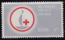 1963 IRELAND 4p CENTENARY RED CROSS  SG 197 U/MINT