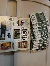 2013 Upper Deck Hobby Goodwin Champions  12 Packs Only
