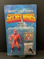 1984 Secret Wars Magneto Unpunched   MOC  marvel sealed