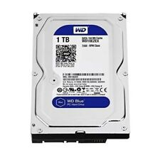 "WD Blue 1TB SATA 6 Gb/s 7200 RPM 64MB Cache 3.5"" Internal Hard Drive (WD10EZEX)"