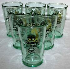 Bacardi Gläser 6x Rum NEU Longdrink Mische Glas 150 Jahre Limited Edition 3/4