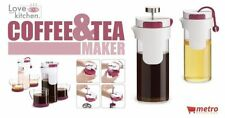 French Press/Tea Maker, 2 in 1, Coffee Maker & Tea Infuser - Love your Kitchen