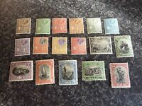 MALTA POSTAGE STAMPS SG157-172 LIGHTLY MOUNTED MINT SOME GUM TONING