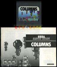 COLUMNS Game Gear Versione Europea ••••• CARTUCCIA E MANUALE