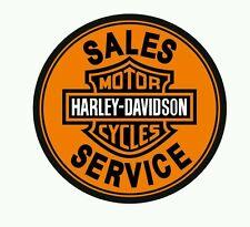 Pegatina Adhesivo Sticker Harley sales service 12 CMS Aufkleber Autocollant