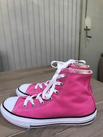 Brand New Authentic CONVERSE All Star Chuck Taylor  Hot Pink Hightops. Size - 6