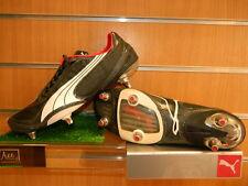 Puma v1.08 Mens Soft Ground Football Boots Black / Dark Shadow / White Size 8