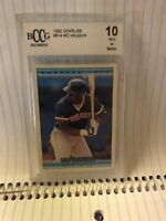 1992 DONRUSS #514 MO VAUGHN GRADED HOT 10 BY BCCG
