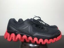 Reebok Men's Zig Evolution Size 10 Black/Excellent Red Running Shoes BD5562
