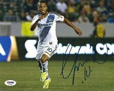 Giovani dos Santos Signed 8x10 Soccer Photo *La Galaxy Psa Ae81693