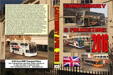 3279. Canterbury. UK. Buses. April 2016. Also includes some Folkestone previous