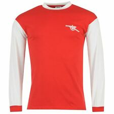 ARSENAL 1971 HOME (2XL) LONG SLEEVE SCORE DRAW RED SOCCER FOOTBALL SHIRT JERSEY