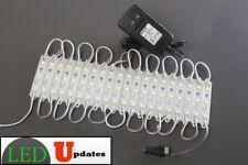 LEDupdates Under cabinet White LED light 10ft + UL 12v Power on/off switch