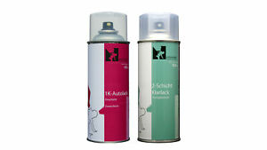 Spray Mercedes 372-5372 Lazulithblau Basislack+Klarlack (2x400ml-2-Schicht-Set)