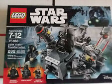 Lego (75183) Star Wars Darth Vader Transformation (Sealed, New) Vader Palpatine