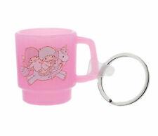 Sanrio Little Twin Stars Pink Miniature Cup Key Ring Keychain : Mug