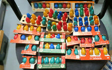 Lot Of 383 Vintage GE C7 Christmas  Bulbs & Other  Mixed New & Used