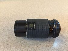 Kiron Camera lens 80-200mm f4.5 Macro 1:4 Zoomlock