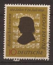 1956 Robert Schumann used, Michel 234.