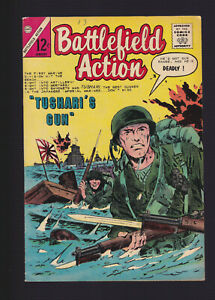 BATTLEFIELD ACTION #56 (Charlton) -- January 1965 -- Silver Age War -- F/VF