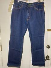 Outdoor Life Men's Regular Fit Blue Jeans Size 36x32 Denim