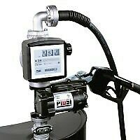 PIUSI EX50 Pro Kit, Heavy Duty UL Pump, 12V