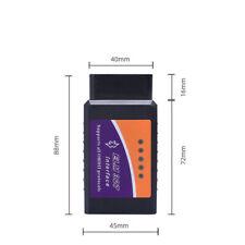 ELM327 Bluetooth OBD2 OBDII Car Diagnostic Scanner Code Reader Tool Universal