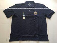 Sz L - royal. hong. kong. men polo. police. w/woven badge (1969-97)blue