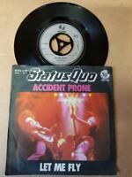 """Status Quo-Accident Prone-Vinyl,7"""",45 RPM,Single Rock Sammlung D 1978"""