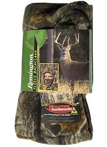 NWT Remington Camo Fleece Balaclava Hunting Face Mask Hood Neck Gaiter One Size