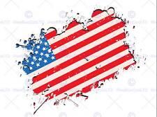 USA Bandiera Americana Grunge foto fine art print poster ARREDAMENTO FOTO bmp141b