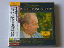 Wilhelm Kempff Beethoven Piano Sonatas 8 CD Box Set TOWER RECORDS JAPAN