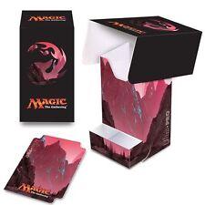 New Ultra Pro Mana Five 5 Lands Deck Box 86534 -MTG- Unhinged Mountain Art-Magic