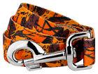 Country Brook Design® Orange Sunset Camo Leash