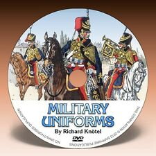 MILITARY UNIFORMS - 1060 illustrations on DVD! - Knötel Uniformenkunde