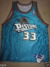 Grant Hill #33 Detroit Pistons NBA Champion Reverse Jersey 44 LG New