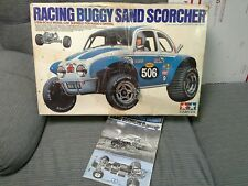 Vintage Tamiya Sand Scorcher Box & Build Manual RC Buggy 1979 EMPTY