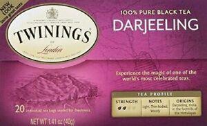 Twinings Darjeeling Tea, Tea Bags (Pack of 2)