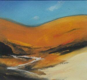 Neil Canning - Original Gouache Painting - Hillside.