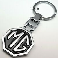 MG Black Metal Keyring With Gift Box Gift For Him Her Dad Mom Wife Girlfriend